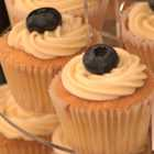 Blueberry Preserve Cupcakes